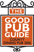 Good pub guide award 2016